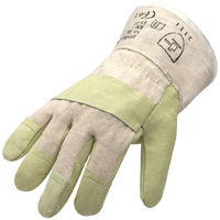 Schweinsnarbenleder Handschuhe Gr.10,5 Arbeitshandschuhe gefüttert Montage