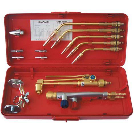 Schweiß-/Schneidgarnitur RHÖNA 2001 AC Injektor M27x1,5mm 0,5-9mm, Acetylen