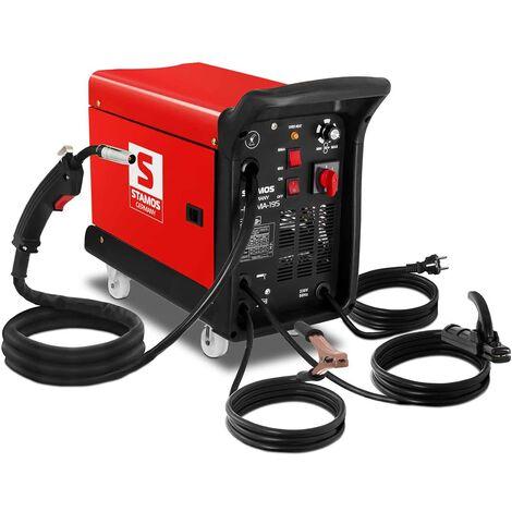 Schweißgerät Schutzgas Inverter Kombischweißgerät 4in1 MIG MAG 195 A MMA Draht