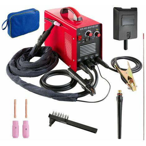 Schweißgerät WIG/TIG, 10-180 A, HF-Züdnung - Elektrodenschweißgerät Inverter