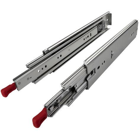 Schwerlastauszüge KV1-250-H76-Lxxx-LC 305 - 1524 mm mit Lock-in/out
