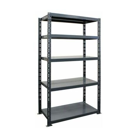 Schwerlastregal | HxBxT 1800 x 900 x 600 mm | Grundregal | 200 kg Fachlast |