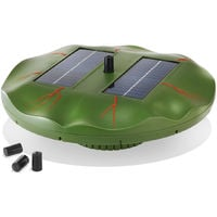 Schwimmende Solar Teichpumpe Seerose Solarpumpe Gartenteich Teich esotec 101770