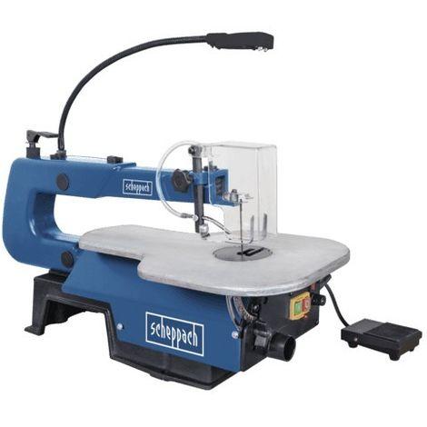 Scie à chantourner Deco XL SCHEPPACH interrupteur à pédale - 230/240V 50Hz 125W 50mm - 5901404901