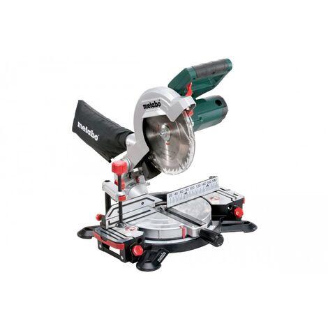 Scie à onglet METABO laser cut 216 mm KS 216 M - 619216000
