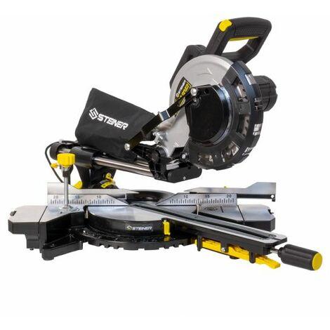 Scie à onglet radiale 2000W 210 mm STEINER