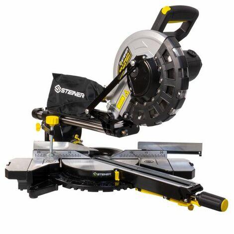 Scie à onglet radiale 2000W 255 mm laser STEINER