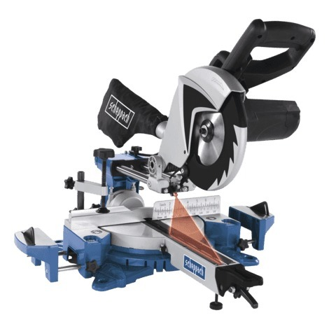 Scie à onglet radiale 216 mm HM80MP SCHEPPACH 5901207901