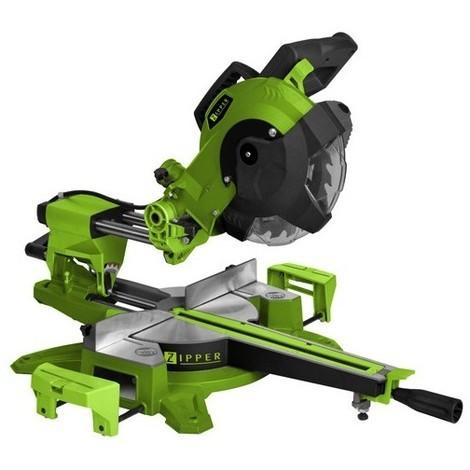 Scie à onglet radiale D.216 mm électrique 1800 W ZI-KGS216-310 - Zipper - -