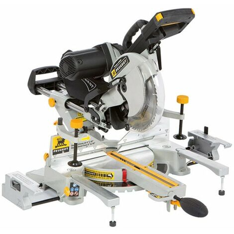 Scie a onglets radiale 1600w energysaw-305stb ref.132055