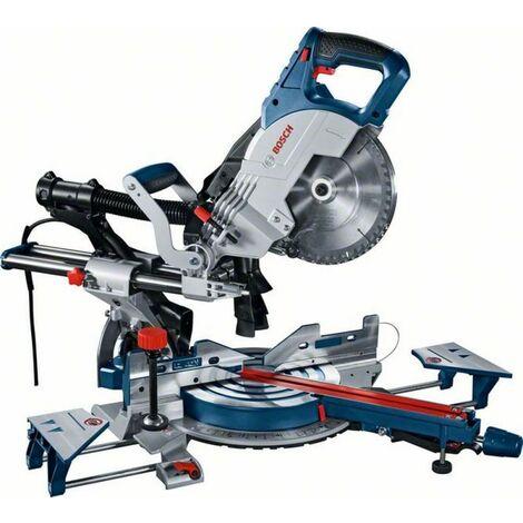 Scie à onglets radiale 1600W GCM 8 SJL Professional BOSCH - avec accessoires - 0601B19100