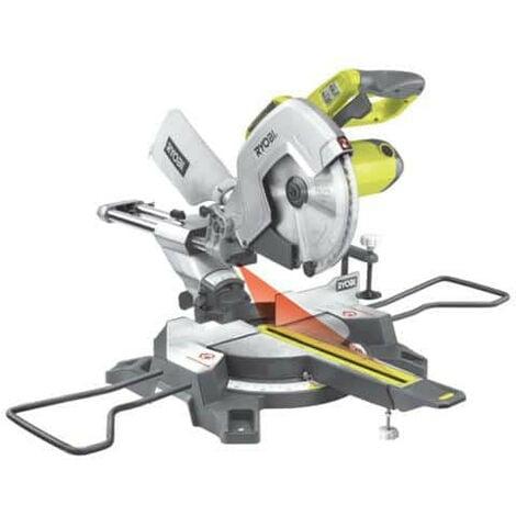 Scie à onglets radiale stationnaire RYOBI 2200W - 305mm EMS305RG