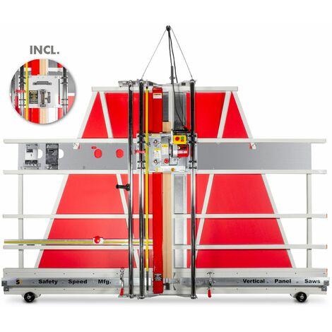 Scie à panneaux verticale multi-matières combinée avec scie à format SSC DFCS5