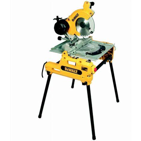 Scie à table et à onglets retournable DEWALT 2000 W - DW743N