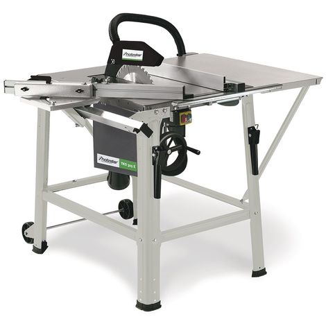 Scie à table mobile pour le bois - ø 315 mm Holzstar TKS315E 230V