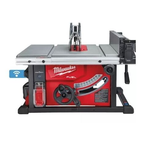 SCIE À TABLE ONE KEY ? MILWAUKEE M18 FTS210-121B + 1PIÈTEMENT POUR SCIE SUR TABLE TSS1000 OFFERT