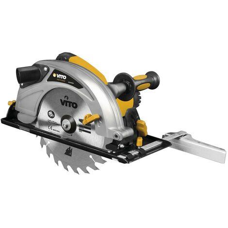 Scie circulaire 2100W VITO- Disque 235 mm - corps aluminium - découpe 45° - 80mm épaisseur