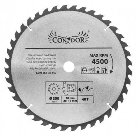 Scie circulaire 230 mm pour bois 40 dents