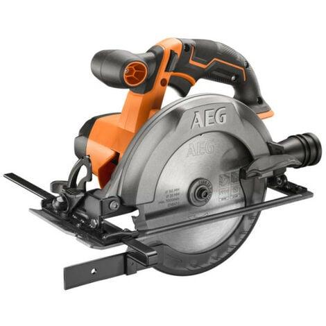 Scie circulaire AEG 18V - 165mm - Sans batterie ni chargeur - BKS18C2-0
