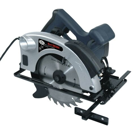 Scie circulaire avec pointeur laser 1200w en mallette - RONDY