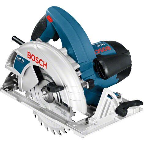 Scie circulaire BOSCH GKS 65 Professional - 1600 W Ø 190 mm + 1 lame de scie Optiline - 0601667000