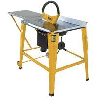 SCIE CIRCULAIRE de table 2000 W VITOPOWER professionnelle Scie électrique stationnaire diam 315 mm inclinaison 45°