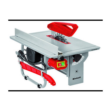 Scie circulaire de table Einhell TC-TS 820 4340410 200 mm 16 mm 800 W 230 V 1 pc(s)