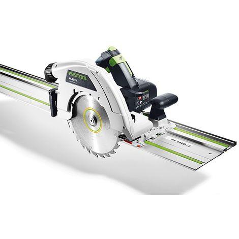 Scie circulaire FESTOOL HK 85 EB-PLUS capot basculant + Rail de guidage FS1400 - 574661