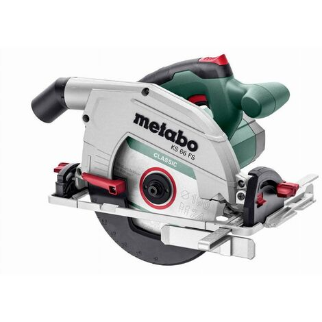 Scie circulaire filaire KS 66 FS METABO - 601066000