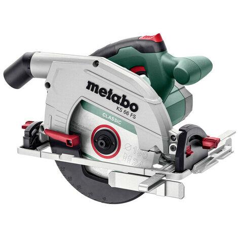 Metabo KS 66 FS-M - Scie circulaire dans MetaBox - 1500W - 190mm