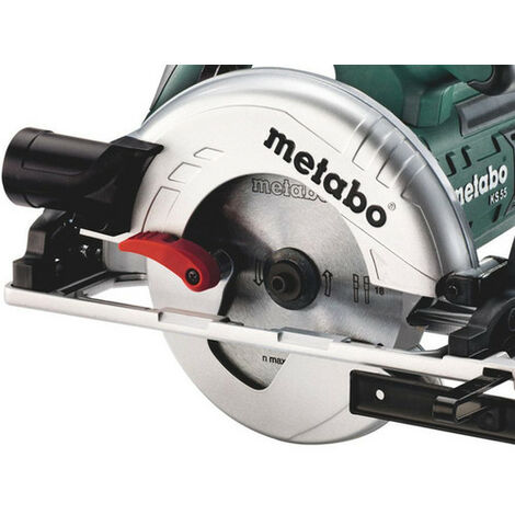 Scie circulaire KS 55 FS METABO Coffret - 600955500
