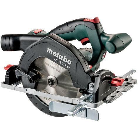 Scie circulaire METABO - KS 18 LTX 57 Pick+Mix (sans batterie ni chargeur), coffret Metaloc - 601857840