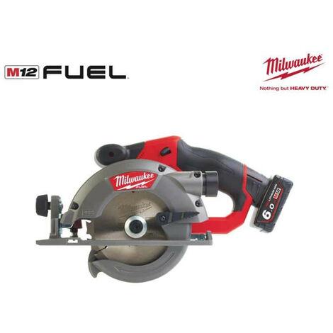Scie circulaire MILWAUKEE FUEL M12 CCS44-602X - 2 batteries 6.0 Ah - 1 chargeur 4933451512