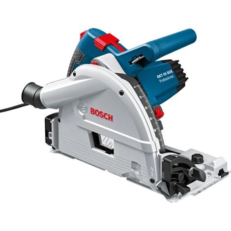 Bosch GKT 55 GCE Scie circulaire Professional et Guide de scie FSN 1600 L-Boxx 0601675002