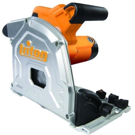 Scie circulaire plongeante lame carbure D. 165 mm électrique 1 400 W Triton TTS1400 - 950638 - Triton - -