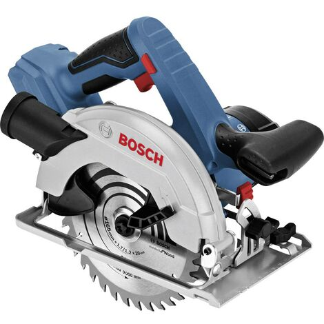 Scie circulaire portative sans fil Bosch Professional GKS 18V-57 06016A2200 165 mm sans batterie 18 V 1 pc(s)