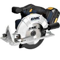 Scie circulaire sans fil batterie 18V diametre 165 mm inclinable GMC18CS