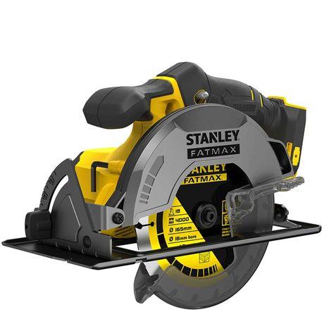Scie Circulaire STANLEY FatMax SFMCS500B (Machine seule Carton)