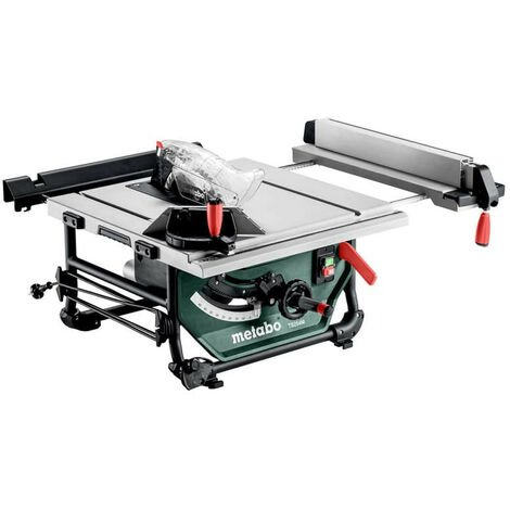 """main image of """"Scie circulaire sur table Ø254 mm 1500W - METABO TS 254 M"""""""