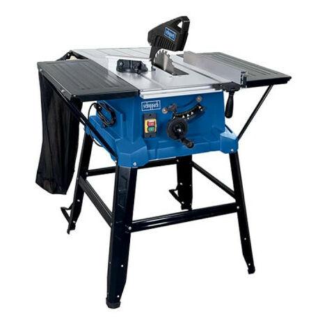 Scie circulaire sur table SCHEPPACH 254 mm 2000W - HS110 et accesoires