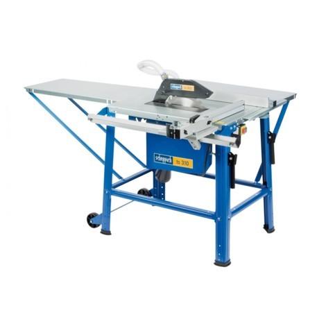 SCIE CIRCULAIRE SUR TABLE TS310 - AVEC CHARIOT ET ELARGISSEMENT DE TABLE