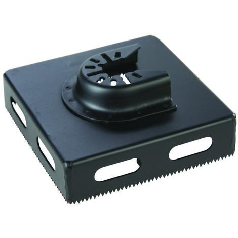 Scie-cloche carrée pour outil multifonction Forme carrée