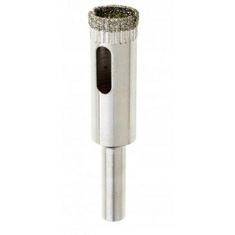 Scie cloche diamant 12 mm pour carrelage grès