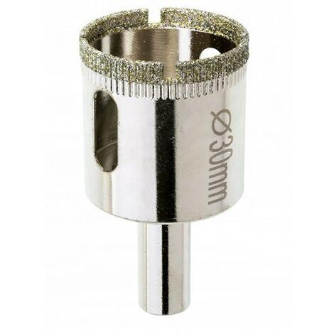 Scie cloche diamant 35 mm pour carrelage grès