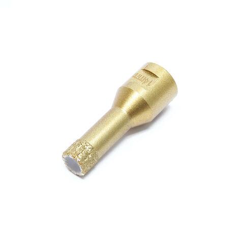 Scie cloche diamant Forage de verre Perçage de carrelage Pierre Scie Trépan à sec Diamètre : 14mm