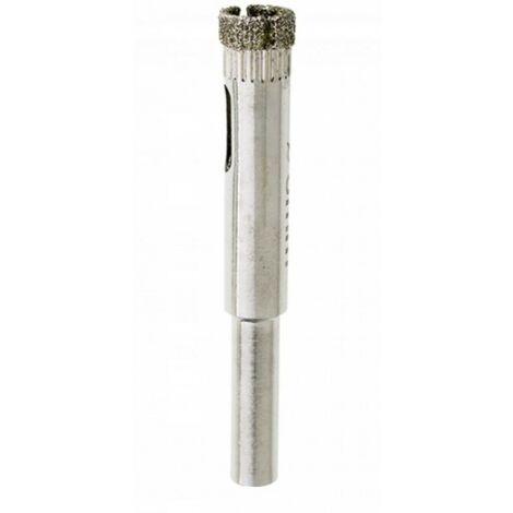 Scie cloche diamantée 8 mm, dentelles pour grès cé