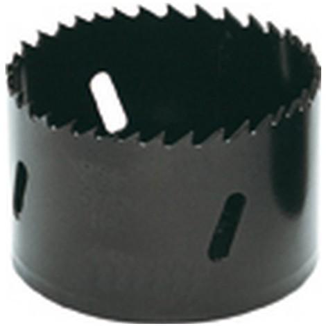 Scie cloche en acier rapide bimétal, Ø : 102 mm, Vitesse de rotation tr/mn Acier à outils/INOX 40, Vitesse de rotation tr/mn Acier de construction 85
