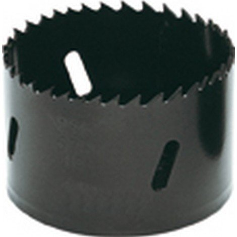 Scie cloche en acier rapide bimétal, Ø : 64 mm, Vitesse de rotation tr/mn Acier à outils/INOX 65, Vitesse de rotation tr/mn Acier de construction 135