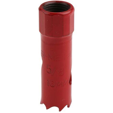 Scie Cloche RS PRO Dents M3 HSS ; corps en alliage d'acier 16mm Bi-Metal, profondeur de coupe 32mm