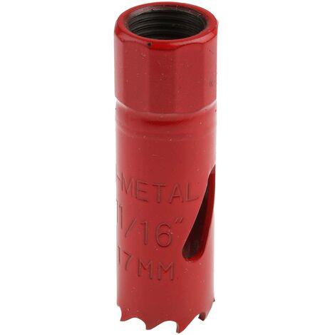 Scie Cloche RS PRO Dents M3 HSS ; corps en alliage d'acier 17mm Bi-Metal, profondeur de coupe 32mm